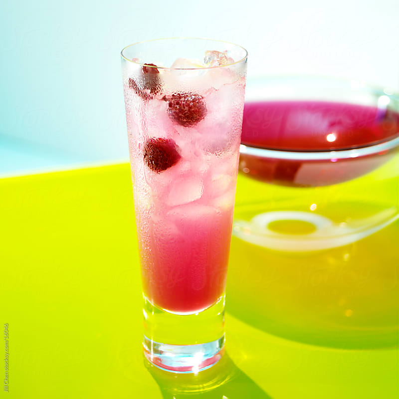 Pretty Pink Lemonade by Jill Chen for Stocksy United