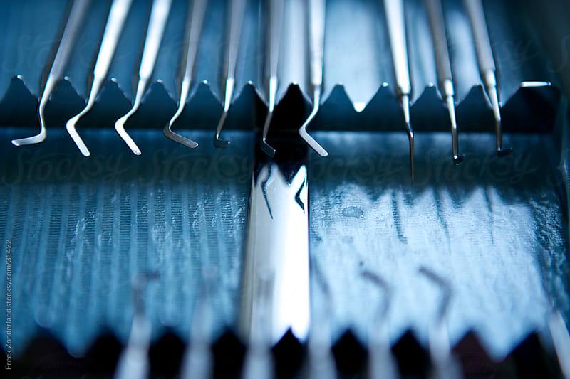 Dentist Instruments by Freek Zonderland for Stocksy United