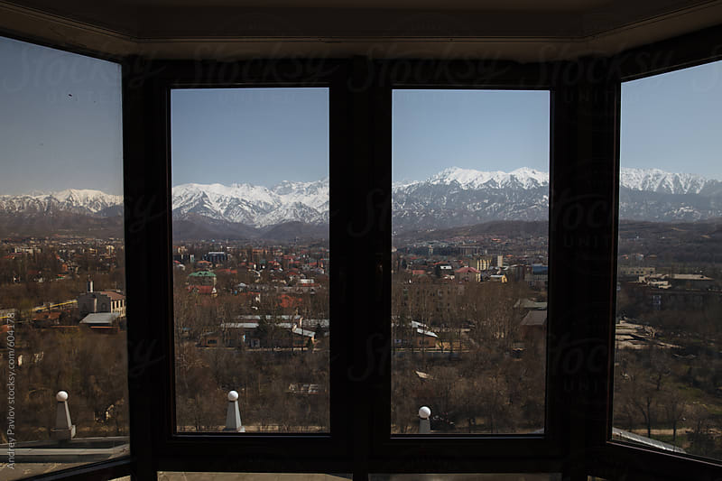 Framed view at Almaty, Kazakstan by Andrey Pavlov for Stocksy United