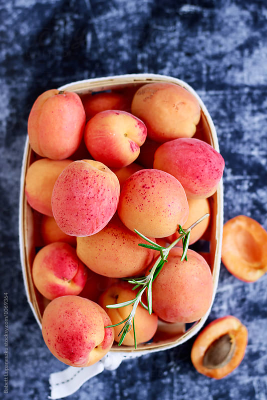Fresh apricot by Babett Lupaneszku for Stocksy United