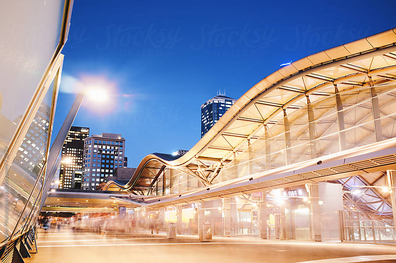 Southern Cross Station, Melbourne, Victoria, Australia by Gary Radler Photography for Stocksy United