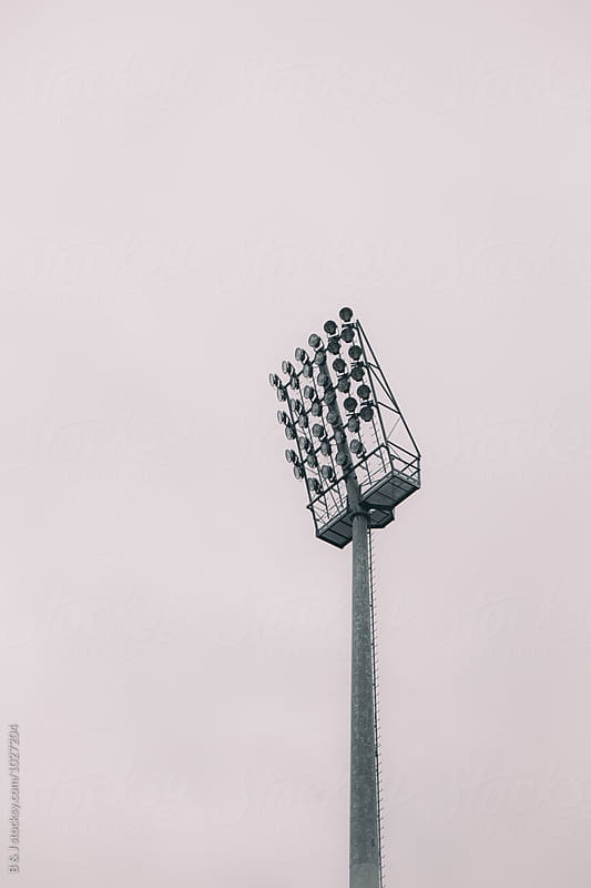 Stadium Floodlights by B & J for Stocksy United