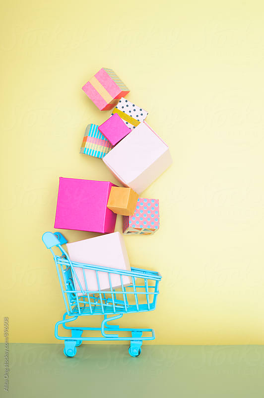 Shopping cart by Alita Ong for Stocksy United