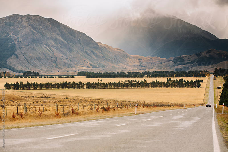 Remote Road South Island, New Zealand by Raymond Forbes LLC for Stocksy United