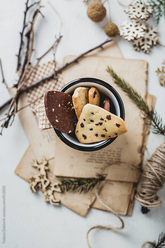 Christmas cookies by Tatjana Ristanic for Stocksy United