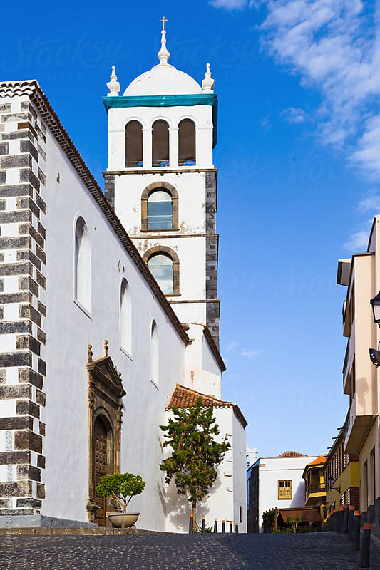 Santa Ana Church, Garachico, Tenerife by Victor Torres for Stocksy United