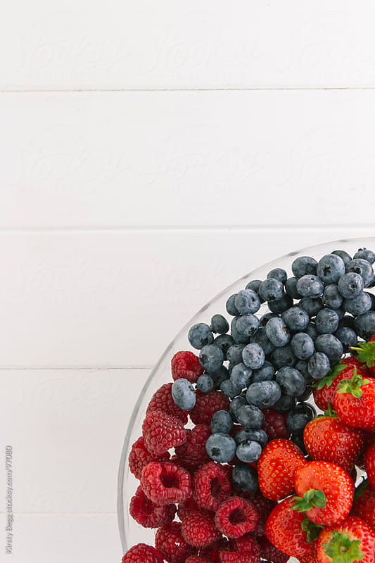 Summer Fruits background by Kirsty Begg for Stocksy United