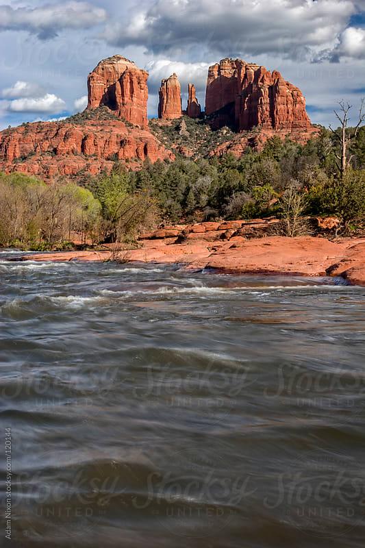 Cathedral Rock, Sedona Arizona by Adam Nixon for Stocksy United