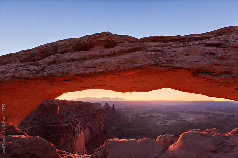 Mesa Arch by Jared Ropelato for Stocksy United