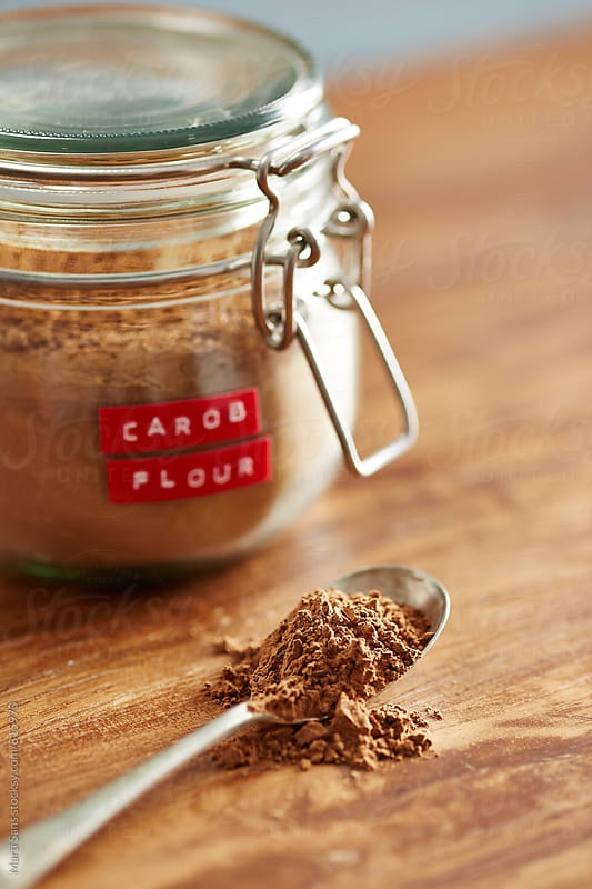 Carob powder by Martí Sans for Stocksy United