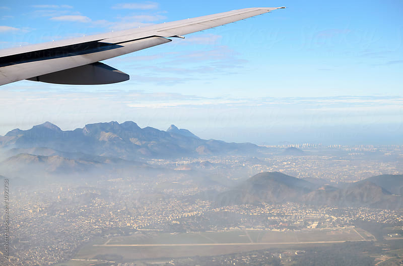Rio de Janeiro from above by Alice Nerr for Stocksy United