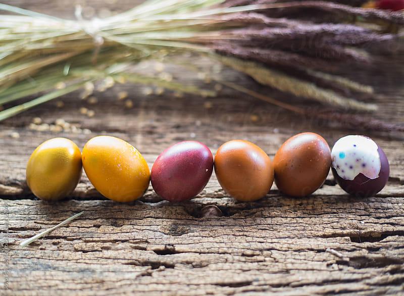 Easter eggs by Jovo Jovanovic for Stocksy United