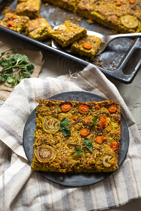 Vegetable Pie by Lumina for Stocksy United