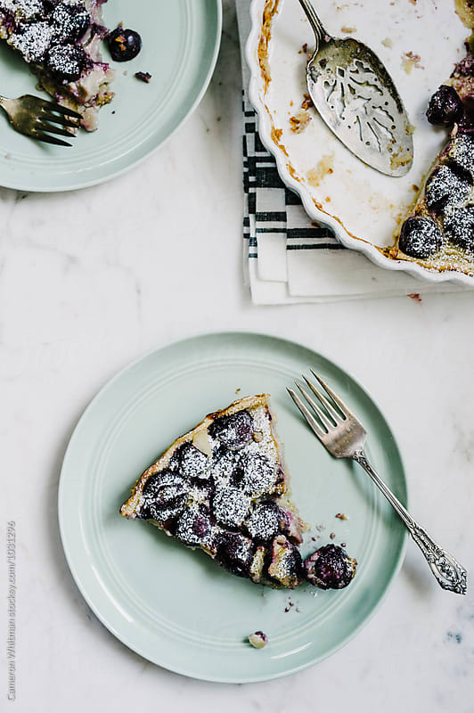Cherry Clafoutis by Cameron Whitman for Stocksy United
