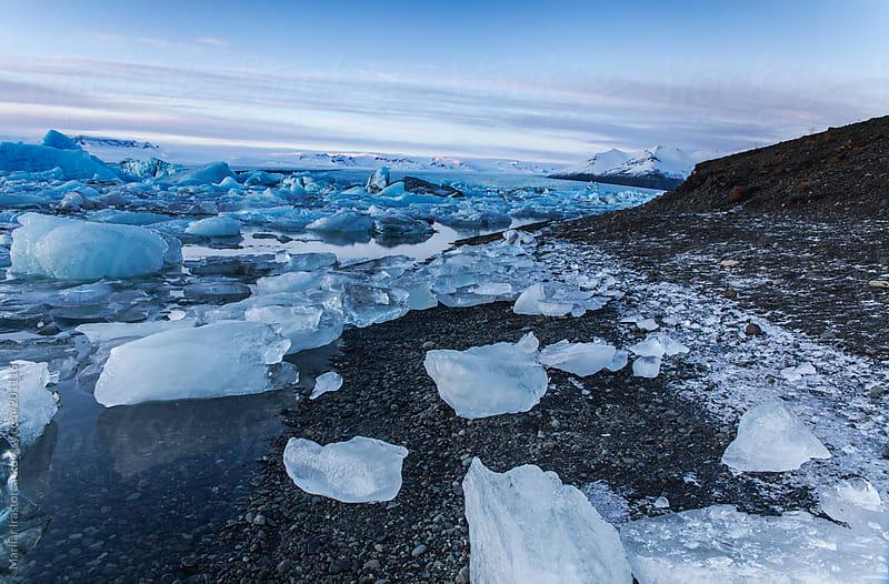 Jökulsárlón Glacier Lagoon by Marilar Irastorza for Stocksy United