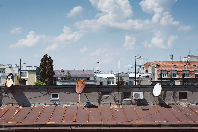 Rooftop by Milos Ljubicic for Stocksy United