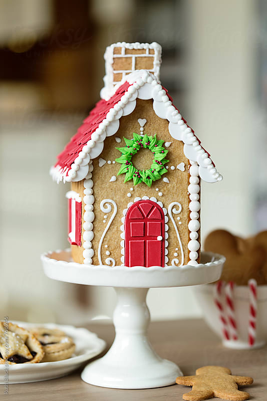 Gingerbread house by Ruth Black for Stocksy United