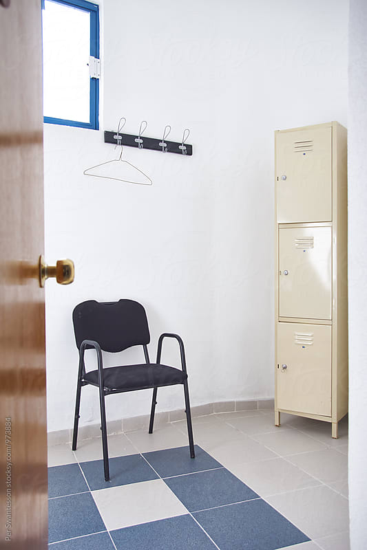 Locker room by Per Swantesson for Stocksy United