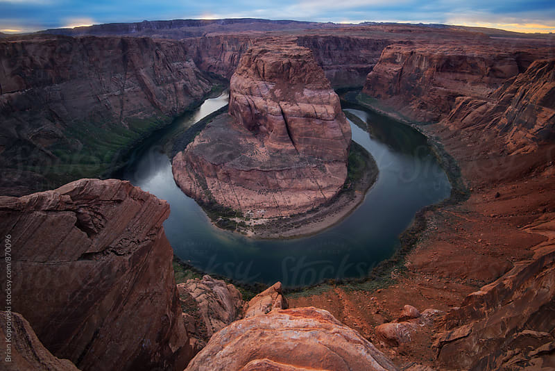 Horseshoe Bend by Brian Koprowski for Stocksy United