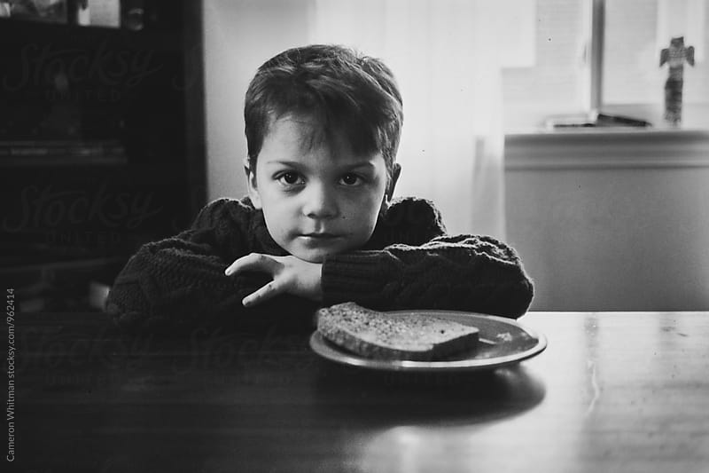 Portrait with cinnamon toast by Cameron Whitman for Stocksy United