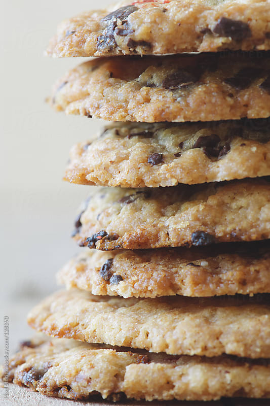 Cookies close-up by Pixel Stories for Stocksy United