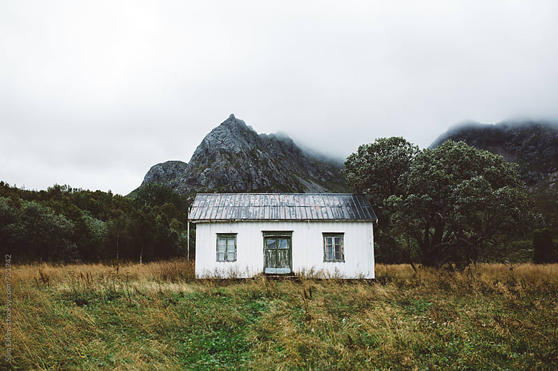 Norwegian Cabin by Sam Elkins for Stocksy United