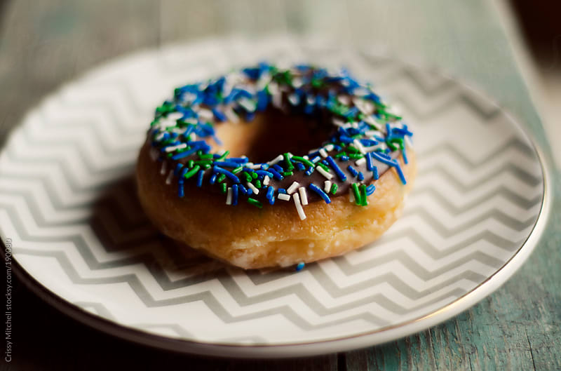 Donut  by Crissy Mitchell for Stocksy United