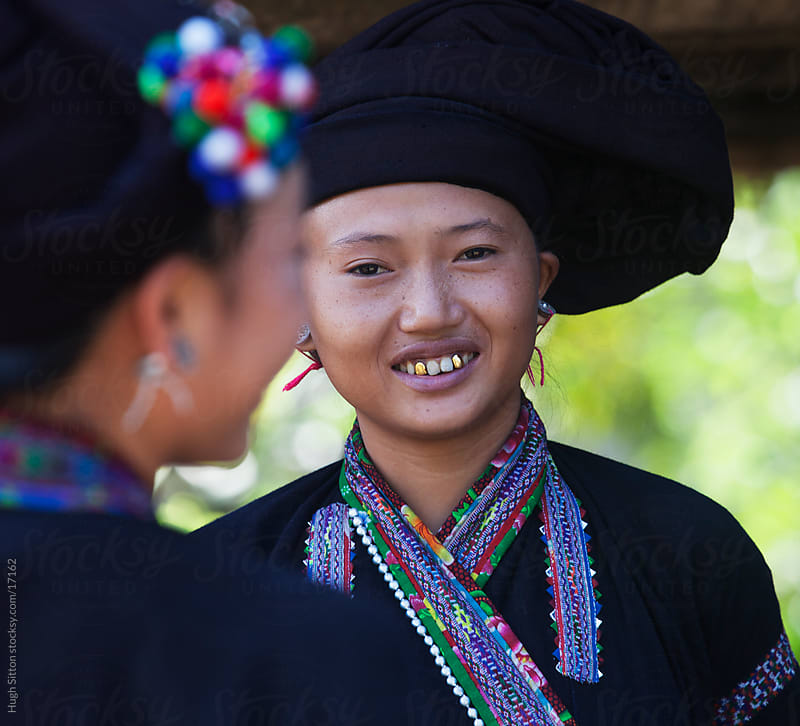 The Lao tribal people of Lao Cai Province. Vietnam. by Hugh Sitton for Stocksy United