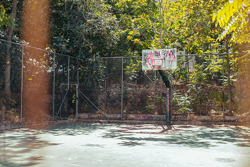 Street Basketball by Aaron Thomas for Stocksy United