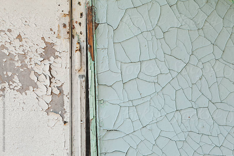 Old wall and door of a bungalow by Aleksandar Novoselski for Stocksy United