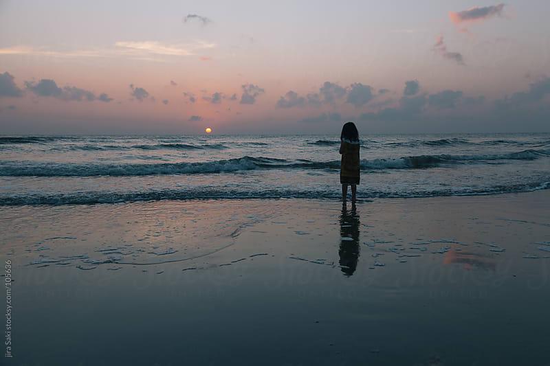 morning beach by jira Saki for Stocksy United