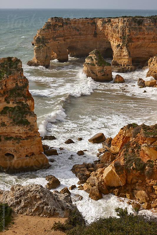 Seashore in south of Portugal by Bratislav Nadezdic for Stocksy United