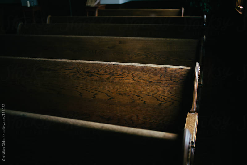 Wooden Church Pew by Christian Gideon for Stocksy United