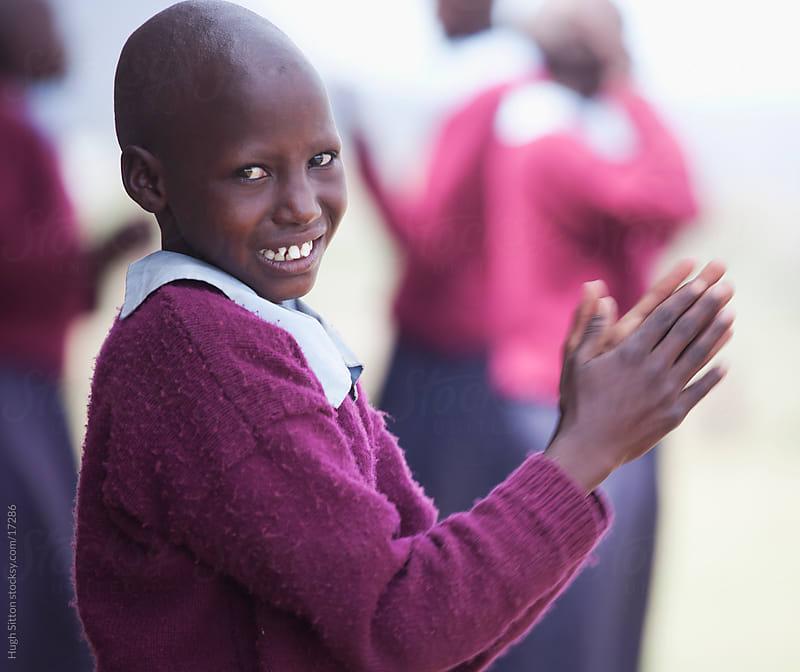 Maasai school children in classroom. Kenya, Africa. by Hugh Sitton for Stocksy United