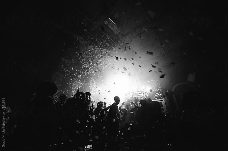 Confetti at a Party by Grady Mitchell for Stocksy United