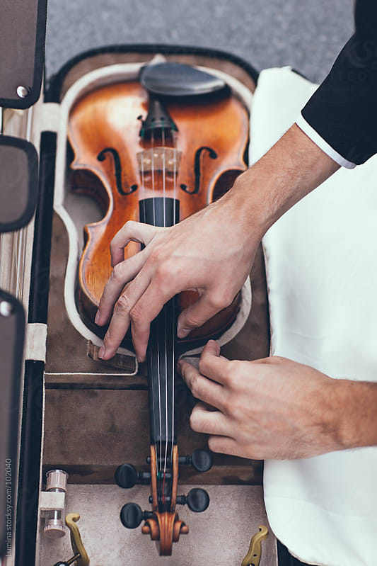 Violin in its Case by Lumina for Stocksy United