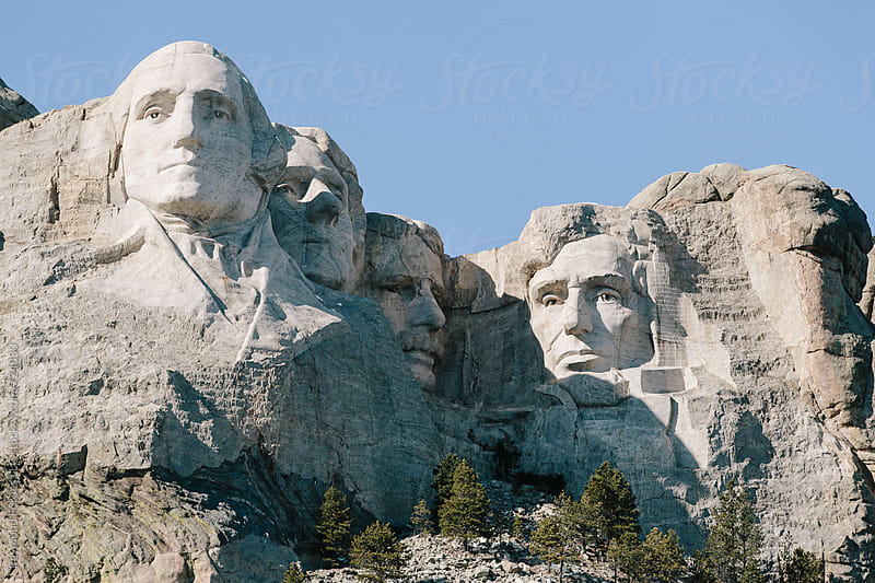 Mount Rushmore Black Hills South Dakota by Raymond Forbes LLC for Stocksy United