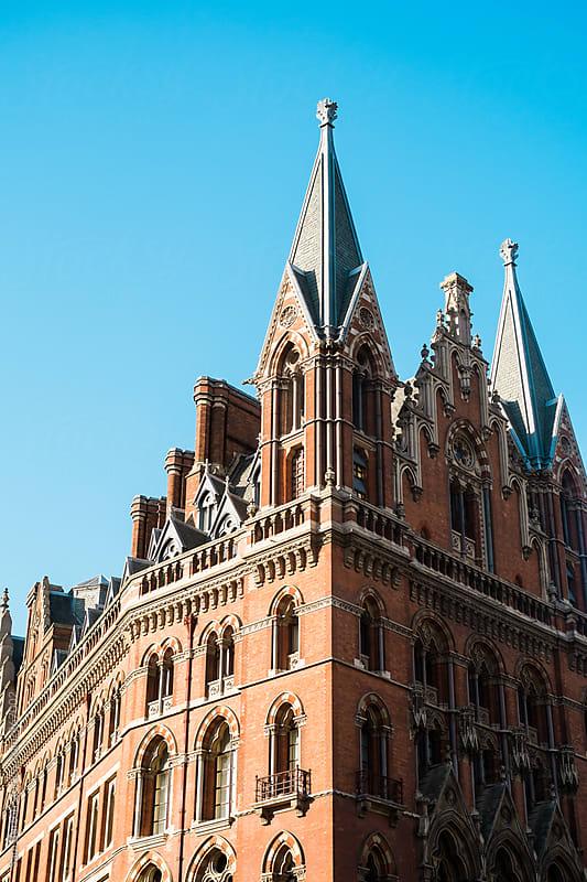 Classic building in London by Sam Burton for Stocksy United