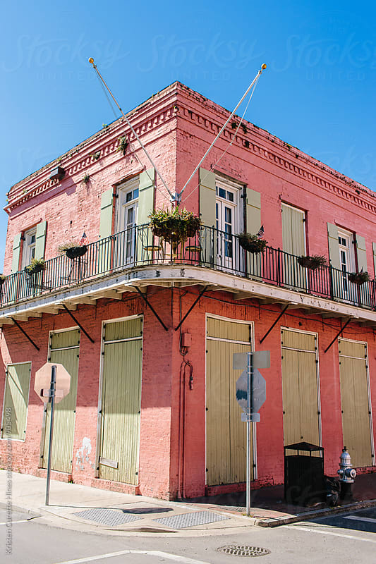 French Quarter, New Orleans  by Kristen Curette Hines for Stocksy United