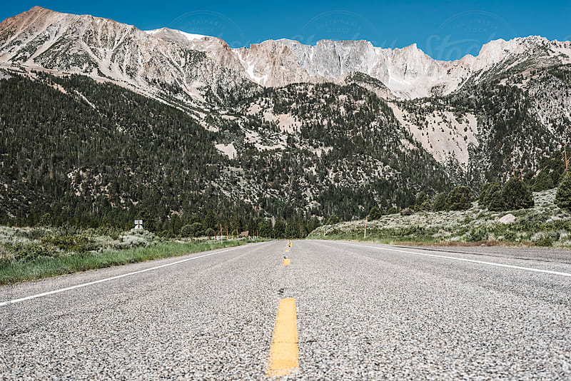 Road in Yosemite National Park by GIC for Stocksy United