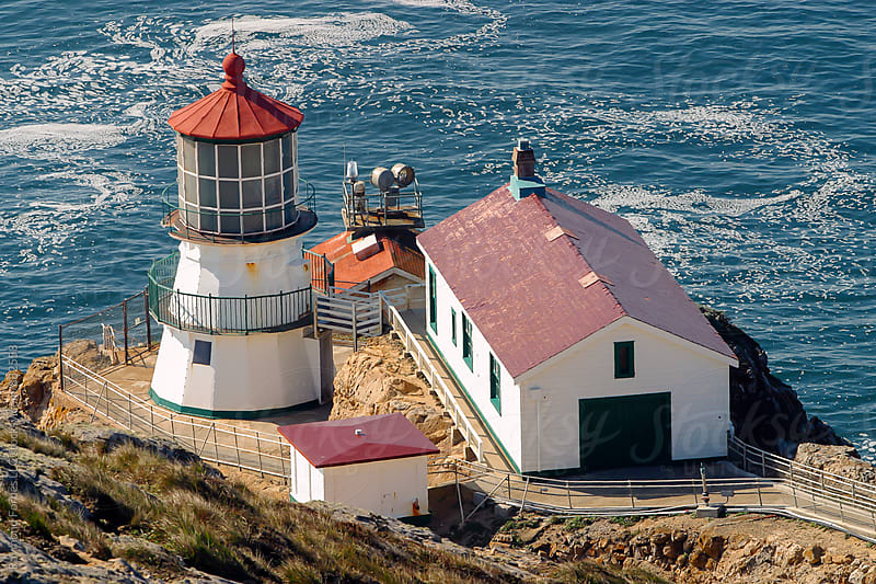 Point Reyes Lighthouse Point Reyes National Seashore Point Reyes Station, California by Raymond Forbes LLC for Stocksy United
