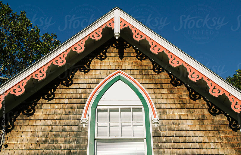 Ornate Roof Detail by Raymond Forbes LLC for Stocksy United