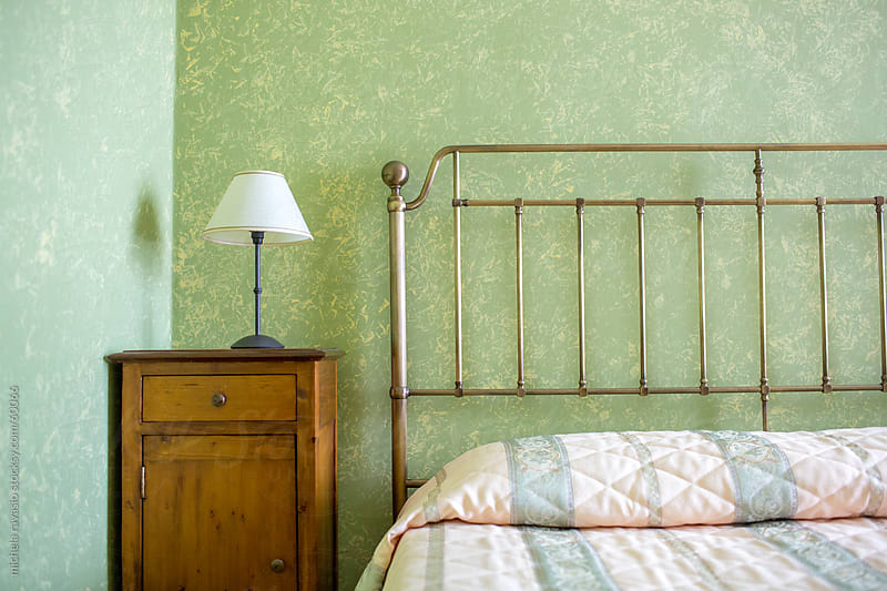 Bedroom detail by michela ravasio for Stocksy United