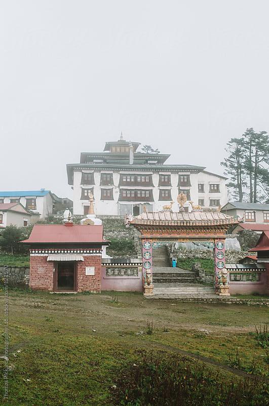 Monastry at Tengboche, Everest Region, Sagarmatha National Park, Nepal. by Thomas Pickard Photography Ltd. for Stocksy United