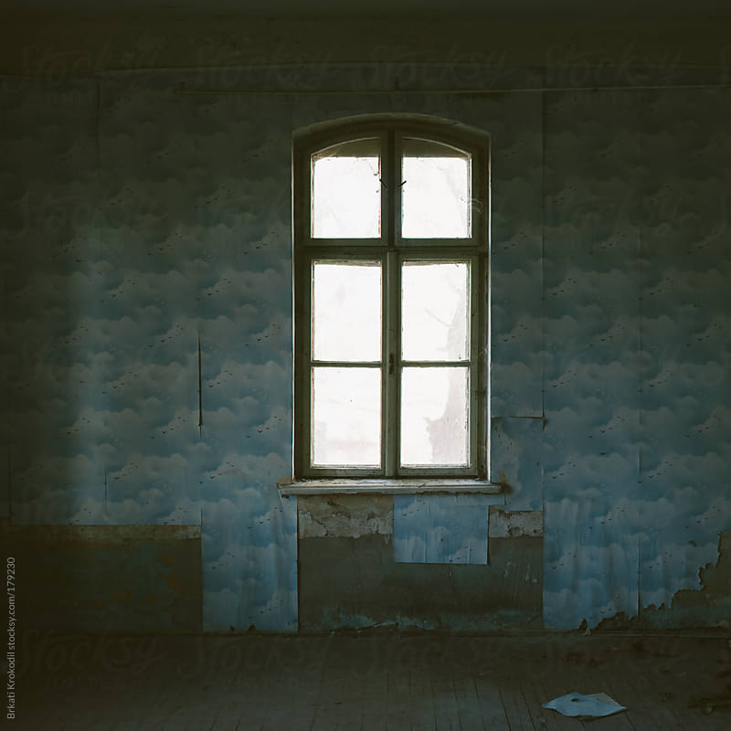 Interior of an old abandoned house by Branislav Jovanovic for Stocksy United