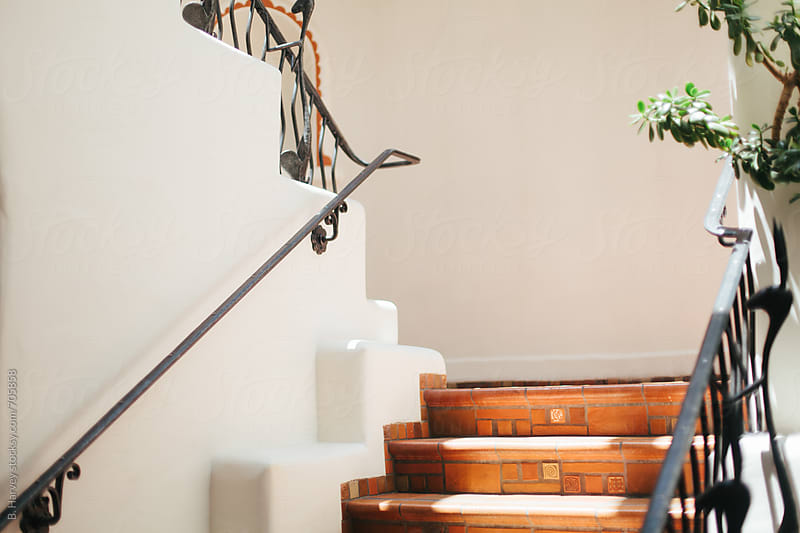 Beautiful, Simple Stairs by B. Harvey for Stocksy United