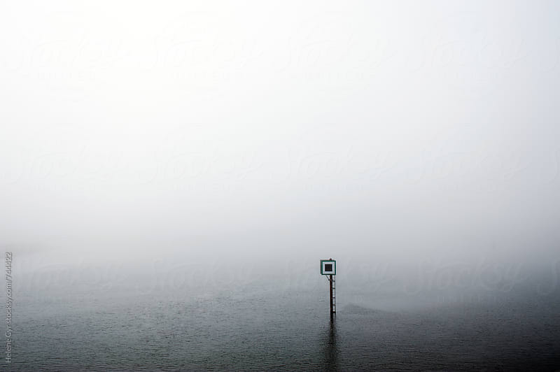Fog on the water by Helene Cyr for Stocksy United