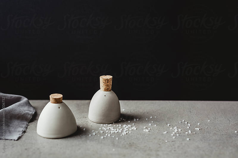 Artistic salt and pepper shakers by Tatjana Ristanic for Stocksy United