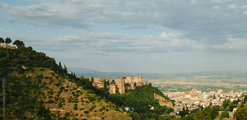 The Alhambra in Granada Spain. by kkgas for Stocksy United