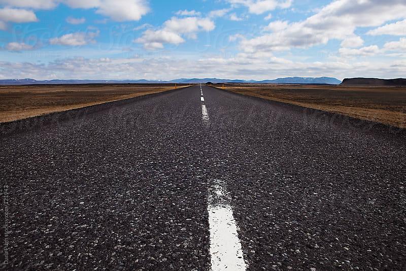 Wide Open Road by Dana Pugh for Stocksy United